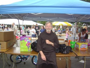 Fr. Michael Putich at Street Fair