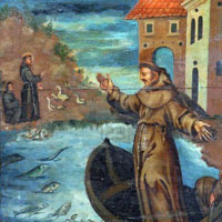 St. Anthony Preaching to Fish