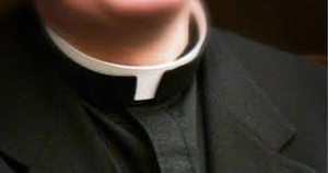 Priest on Collar