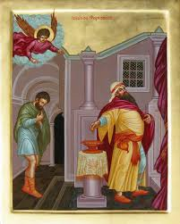 The tax collector and the Pharisee