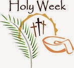 Holy Week Graphic from Fr. John Anglin's Blog
