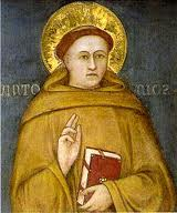 St. Anthony of Padua Holding Book